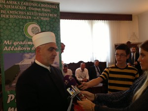 Reisu-l-ulema Husein ef. Kavazović, iPhon video clip