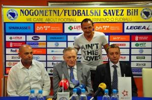 s liejva: Sulejma Hrvić, Ivica osim, Rusmir Hrvić, Enis Bešlagić