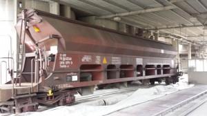 Dopremanje voza sa pšenicom u Klas 3