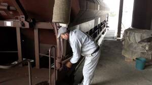 Dopremanje voza sa pšenicom u Klas 4